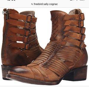Freebird Sally Cognac boots booties fall style